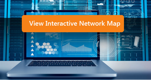 View the interactive Network Map