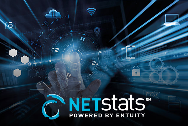 NETstats℠ conceptualization of network interface performance insights